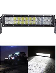 120W COMBO Auto Motor 5D LED trabalho Light Bar Off-road Driving Lâmpada Pick-up Barco 4WD Carro lâmpadas