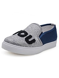 Women's Shoes Libo New Style Office / Casual Canvas Comfort Platform Fashion Sneakers Pink / Gray