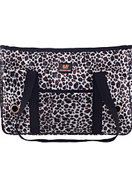 Cat Dog Carrier & Travel Backpack Sling Bag Pet Carrier Portable Leopard Leopard