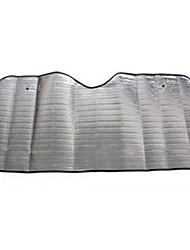 espuma de sol bloco da frente pára-brisa sol isolamento anti-uv carro pára-sol 130 x 60cm