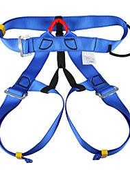 kan le / camna ao ar livre, escalada em declive, salvamento, aéreo cinto de segurança de trabalho (azul)