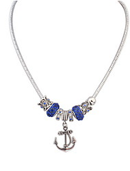 Simple Fashion Anchor Necklace