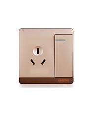 tomada caseira interruptor de controle duplo (série Q7)