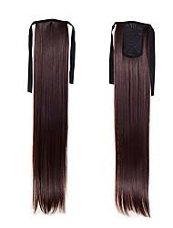 """synthétique droite queue de cheval 50cm 22inch 100g # ruban queue de cheval """"33 blond mode couleur extensions de cheveux de queue de"""