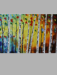 Iarts Tree Wall Decor Painting Acrylic Nice Home Art Work For Living Room 60x120cm Ready to Hang