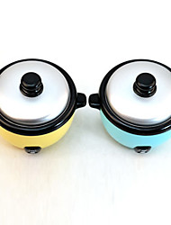 Mini Rice Cooker Shaped Coin Bank Money Saving Storage Box (Random Color)