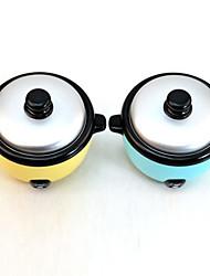 Mini Rice Cooker Shaped Coin Bank Money Saving Storage Box (Random Color)