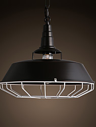 Black Metal Ceiling Light, Living room Bedroom Dining Room  Kitchen Bar Cafe Hallway Balcony Pendant Lamp