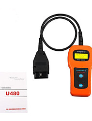 U480 OBD2 CAN BUS & Engine Code Reader Multi Vehicle Hand-Held Secret Code Reader