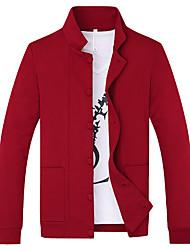 Autumn youth popular new tide men's cardigan jacket iron processing Korean Men T-shirt knitting sweater