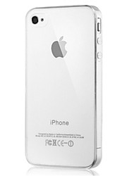 Transparent Design Soft Case for iPhone 4/4S