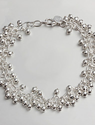 Femme Chaînes & Bracelets Argent sterling Mode Bijoux 1pc
