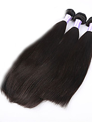 "3pcs/lot 8""-34""Brazilian Virgin Hair Straight Unprocessed Human Hair Bundles Virgin Brazillian Straight Hair Weft"
