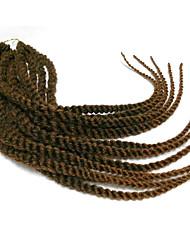 Гавана Спиральные плетенки Наращивание волос 12 16 20 24 inch Kanekalon 12 roots/pac нитка 100 g/pack грамм косы волос