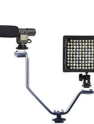 1 set avec 108 micro et de type v support de lumière du flash et hy-126 a conduit la lumière