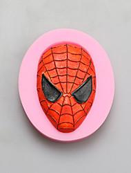 spider-man Schokolade Silikonformen, Kuchenformen, Seifenformen, Dekoration Werkzeuge bakeware