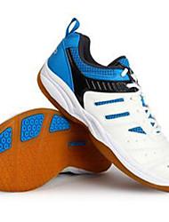 Unisex Sneakers PU Athletic Tennis Badminton Lace-up Flat Heel Blue