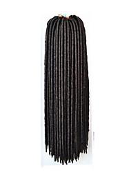 Гавана / Вязаные дредлоки Наращивание волос 14 18 inch Kanekalon 24 нитка 115-125 грамм косы волос