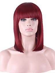 Long Hair In European And American Fashion Head Bob High Temperature Wire