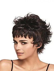 Black Color Cosplay Wigs Wholesale Short Curly Party Cosplay Wig