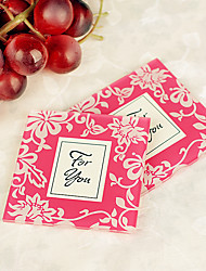 Recipient Gifts- 2pcs - Cherry Blossom Glass Photo Frame Coasters Wedding Guest Return Souvenirs