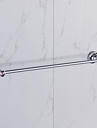 Towel Bar / Chrome / Wall Mounted /60*15*10 /Zinc Alloy /Contemporary /60 15 0.403