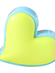 (2pcs/Pack) US Plug Creative Love Heart-Shaped Light Control Nightlight