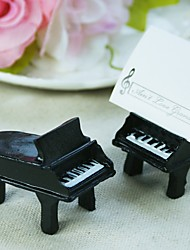 Wedding Décor - 4pcs Piano Place Card Holders, Escort Cards Party Decorations