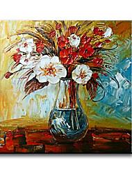 Peint à la main Nature morte Peintures à l'huile,Style / Modern / Classique / Traditionnel / Réalisme / Méditerranéen / Pastoral / Style