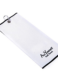 Custom Logo Embroidery Towel Manufacturer Golf Towel Custom Pattern Of Foreign Trade Merbau Towel To Wipe Cue