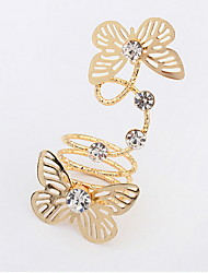 Fashion Butterfly Fantasy Ring