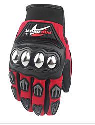 Off-Road-Motorrad-Handschuhe rutschen Widerstand Edelstahl Racing Handschuhe volle Finger fallen