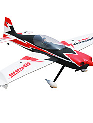 RTF Dynam Sbach 342 Bürstenlose Elektro RC Flugzeug 4ch 2.4G EPO red and black geringfügige Montage nötig