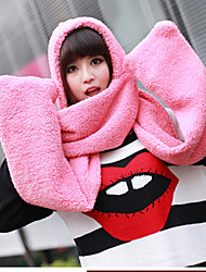 Women Wool Scarf,Cute RectangleSolid