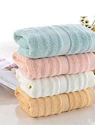 "1 Piece Bamboo Fabric Thickening Bath Towel  55"" by 27"" Solid Multicolor Super Soft"