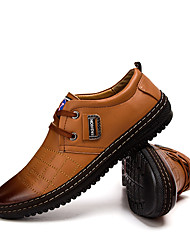 Men's Oxfords Casual/Party/Office & Career/Drive/Golf Fashion Casual Oxfords PU Leather Shoes EU38-EU44