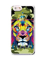 EFORCASE® Crown Tiger HD 3D stereoscopic TPU and PC Phone Case for  iphoneSE/5S/5/6/6S/6plus/6S plus