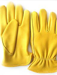 л код движения защита наружного езда оленьей кожи вождения перчатки промышленности