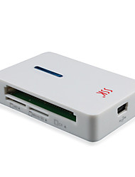 SSK USB 2.0 Multifunctional SD / MS / CF / XD / TF / M2 Card Reader, Compact Flash Card Reader SCRM016