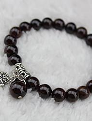 Women's Chinese Style Black Strand Bracelet