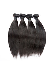 Brazilian Virgin Hair Straight 4Pcs 100% Human hair 8A Unprocessed Remy Hair Straight Virgin Human Hair Weaves