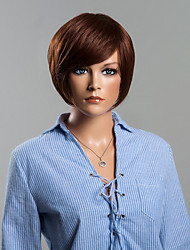 Short Human Hair Wigs For Women Elegant wig