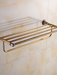 Bathroom Shelf / Brushed / Wall Mounted /60*15*10 /Brass /Antique /60 15 1.412