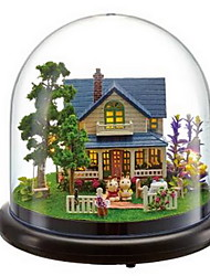 Music Box Around The Transparent Cover Villa Model