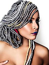 La Havane / Crochet Tresses Twist Extensions de cheveux 20 Inch Kanekalon 20 Brin 90g gramme Braids Hair