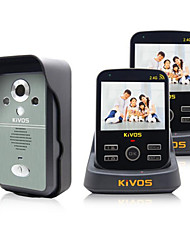 KiVOS Doorbell Wireless Video Doorbell Home Two Drag Two Camera Surveillance Video Unlock