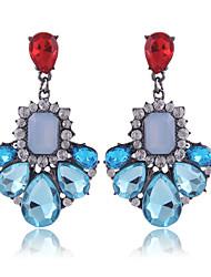 Damen Ohrring Legierung Kristall Tropfen - Ohrringe