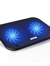 cmpick F3 moda tribo arrefecimento dupla fã notebook radiador usb computador suporte de base