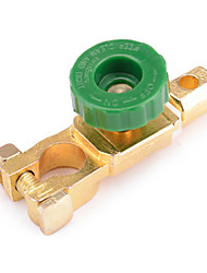 jtron 400a accu van de auto schakelaar / battery switch head - golden + groen
