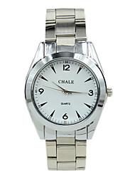 ocasional relógio dos homens pulseira de moda analógico-digital de quartzo liga mecânica
